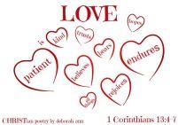 love is blind ~ christian poetry by deborah ann