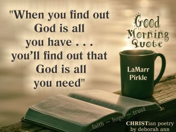 Good Morning Quote 031019 Christian Poetry By Deborah Ann
