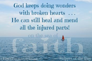 God Heals The Broken Heart | CHRISTian poetry ~ by deborah ann