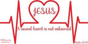 A Sound Heaart ~ CHRISTian poetry by deborah ann belka ~ free to use
