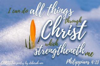 All I Am Able ~ CHRISTian poetry by deborah ann belka ~ free to use