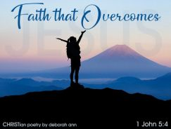The Road To Victory ~ CHRISTian poetry by deborah ann belka ~ free to use