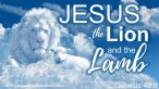 The Lion and The Lamb ~ CHRISTian poetry by deborah ann free to use