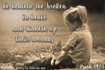 From Brokeness to Wholeness ~ CHRISTian poetry by deborah ann free to use