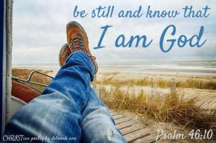 To Busy To Be Still ~ CHRISTian poetry by deborah ann ~ free to use