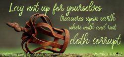 Laying Up My Treasures ~ CHRISTian poetry by deborah ann belka ~ free touse