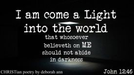 A Saaving Ray of Light ~ CHRISTian poetry by deborah ann free to use