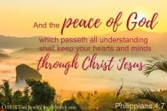Claiming My Peace ~ CHRISTian poetry by deborah ann free to use