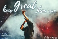 God of Great Things ~ CHRISTian poetry by deborah ann free to use