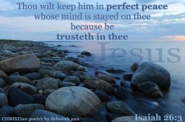 Anchored In Peace ~ CHRISTian poetry by deborah ann belka ~ free to use