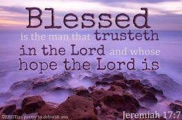 My Hope Doesn't Disappoint ~ CHRISTian poetry by deborah ann free to use