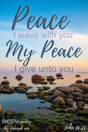 We All Look For Peace ~ CHRISTian poetry by deborah ann free to use
