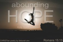 God My Hope ~ CHRISTian poetry by deborah ann belka ~ free to use