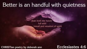 God, My Tranquility ~ CHRISTian poetry by deborah ann belka ~ free to use