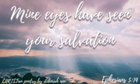 The LIght of Salvation~ CHRISTian poetry by deborah ann free to use