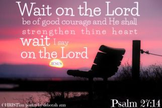 In God's Waiting Room ~ CHRISTian poetry by deborah ann free to use
