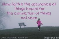 Living By Faith ~ CHRISTian poetry by deborah ann free to use