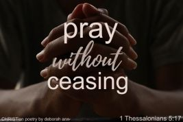 Tangible Power ~ CHRISTian poetry by deborah ann free to use