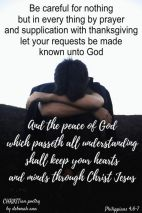 Fraught With Worry ~ CHRISTian poetry by deborah ann free to use