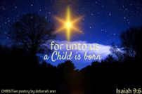 On This Christmas Morn ~ CHRISTian poetry by deborah ann free to use